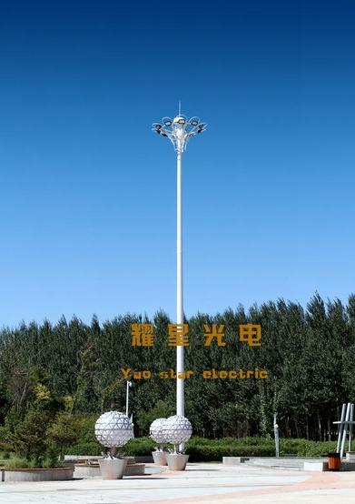 高杆燈升降與不能升降的使用範圍